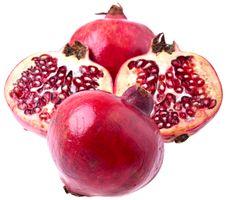 Free Pomegranates, Isolated Stock Photography - 16623152