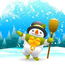 Free Snowman Character Stock Photos - 16623153