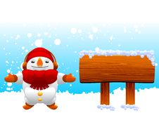 Free Snowman Character Stock Photography - 16623162