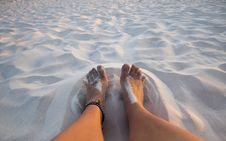 Free Happy Feet Royalty Free Stock Photography - 16623967