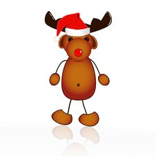 Free Rudolph The Red-nosed Reindeer Stock Photos - 16625153