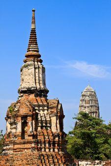 Free Ancient Pagoda-Ayutthaya Thailand Royalty Free Stock Photos - 16625448