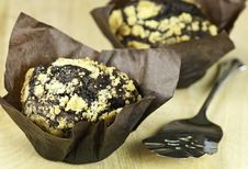 Free Gourmet Chocolate Muffins Royalty Free Stock Photography - 16625587