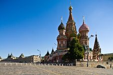 Free St Basil Cathedral Royalty Free Stock Image - 16625816