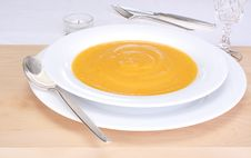 Free Pumpkin Soup Royalty Free Stock Images - 16626749