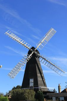 Traditional Windmill Royalty Free Stock Image