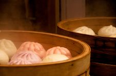 Free Chinese Steamed Buns Stock Photography - 16629142
