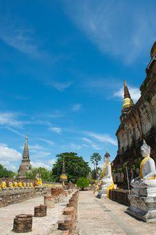 Free Wat Chai Royalty Free Stock Image - 16629166