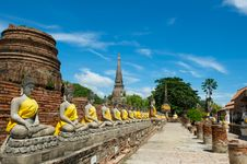 Free Wat Chai Royalty Free Stock Image - 16629196