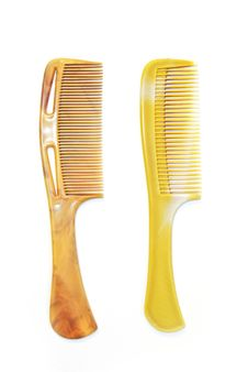 Free Couple Of Comb Isolated Stock Images - 16629354