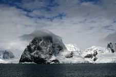 Antarctica Glacier Stock Photography