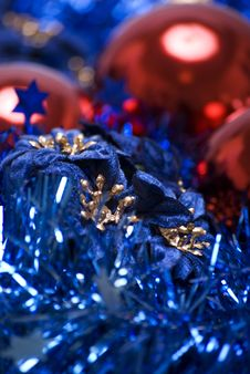 Free Christmas And New Year Decorations Stock Images - 16629814