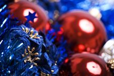 Free Christmas And New Year Decorations Royalty Free Stock Photos - 16629818