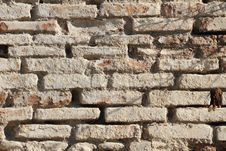 Ancient Brick Wall. Stock Image