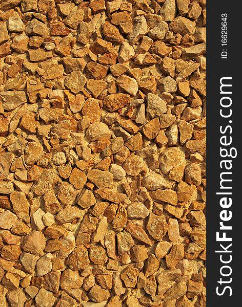 Pebbles background texture