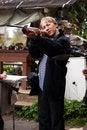 Free Man With Gun Stock Image - 16631971