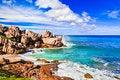 Free Tropical Beach At Seychelles Royalty Free Stock Photo - 16634285