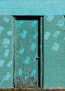 Free Turquoise Door Stock Photo - 16635530