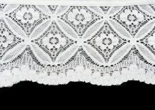 Free White Lace Stock Photography - 16630152