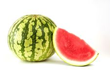 Free Piece Of Watermelon Stock Images - 16630194
