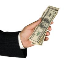 Free Dollars In Hand Royalty Free Stock Photo - 16630365