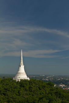 Free Kao Wang Palace At Petchburi Royalty Free Stock Photo - 16630385