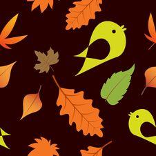 Free Seamless Autumn Background Stock Photos - 16630703