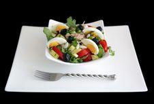 Free Niçoise Salad Stock Photography - 16630882