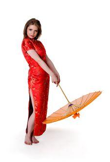 Free China-style Woman Stock Photography - 16631232