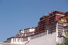 Free The Potala Palace Royalty Free Stock Photos - 16631378