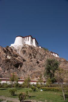 Free The Potala Palace Royalty Free Stock Image - 16631426