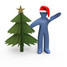 Free Santa Claus 3D Stock Photography - 16631592