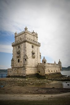 Free Belem Tower In Lisbon Stock Photo - 16631990