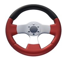 Free Red Racing Wheel Stock Photos - 16632253