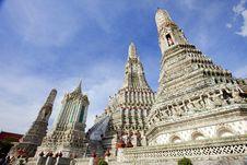 Free Wat Pho, Bangkok, Thailand Royalty Free Stock Photos - 16632298