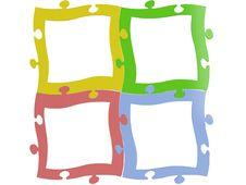 Free Empty Frames Isolated Stock Photos - 16632383