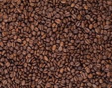 Free Roasted Coffee Beans Background Stock Photos - 16633173