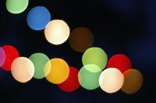 Free Christmas Bokeh Stock Image - 16633651