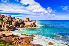 Free Tropical Beach At Seychelles Royalty Free Stock Photo - 16634285