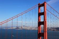 Free Golden Gate Bridge Royalty Free Stock Photography - 16634367