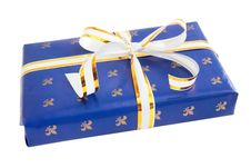 Free Blue Gift Royalty Free Stock Images - 16634609