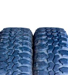 Free Off-road Tire Isolated Stock Photo - 16635000