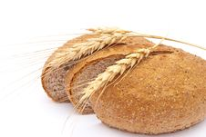 Free Bread With Wheat And Ears Stock Images - 16635054