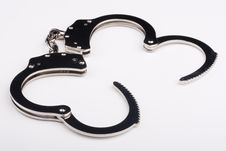Free Iron Handcuffs Stock Photos - 16635253