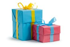 Free Color Gift Boxes Royalty Free Stock Photos - 16635448