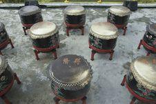 Free China Drums Show. Stock Photos - 16636443