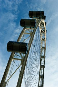 Free Singapore Flyer Royalty Free Stock Photo - 16636695
