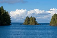 Northern Islands Seascape Stock Photography