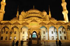 Free Blue Mosque Royalty Free Stock Images - 16637669