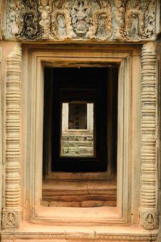 Free Cambodia Architecture Stock Image - 16637691